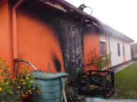 Garagenbrand - 20.09.2020
